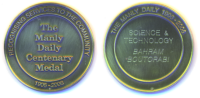 Manly Daily Centenary Medal